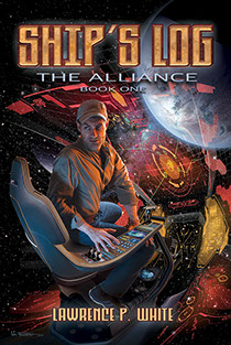 Book cover illustrations by Brad Fraunfelter for Lawrence P. White's 3-book Alliance series.