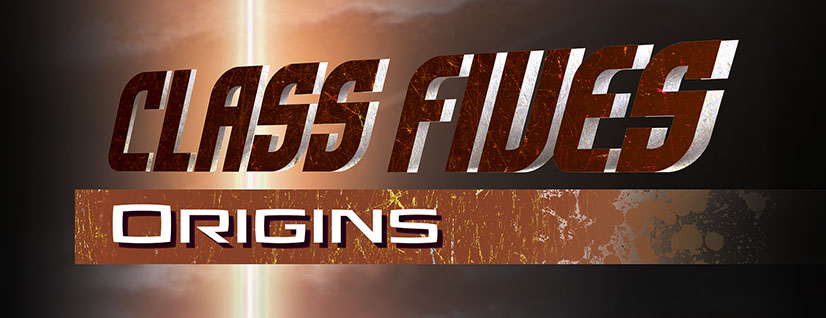 Class Fives Origins logo by Brad Fraunfelter.