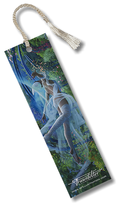 """Firefly"" bookmark by Brad Fraunfelter for sale."