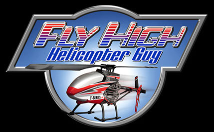 Logo for Fly High Helicopter Guy designed by Brad Fraunfelter