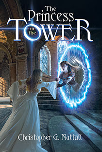 "Book cover illustrated by Brad Fraunfelter for author Christopher G. Nuttall's: ""The Princess Tower""."