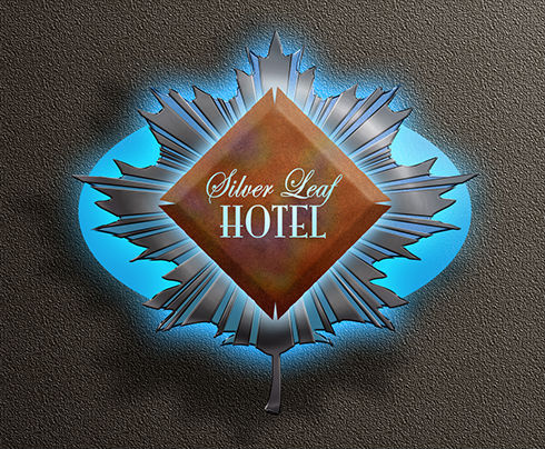 Logo designed by Brad Fraunfelter for the Silver Leaf Hotel