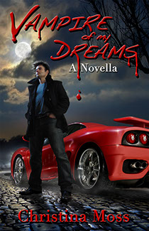 "Illustration and photography by Brad Fraunfelter for Christina Moss' novella ""Vampire of My Dreams"""